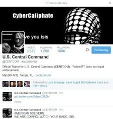 Az Iszlám Állam feltörte az amerikai Központi Főparancsnokság Twitterét és Youtube-ját