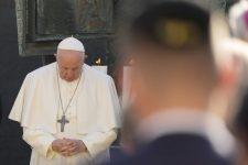 Hálaadás a pápalátogatásért – szlovák búcsú és magyar prédikáció