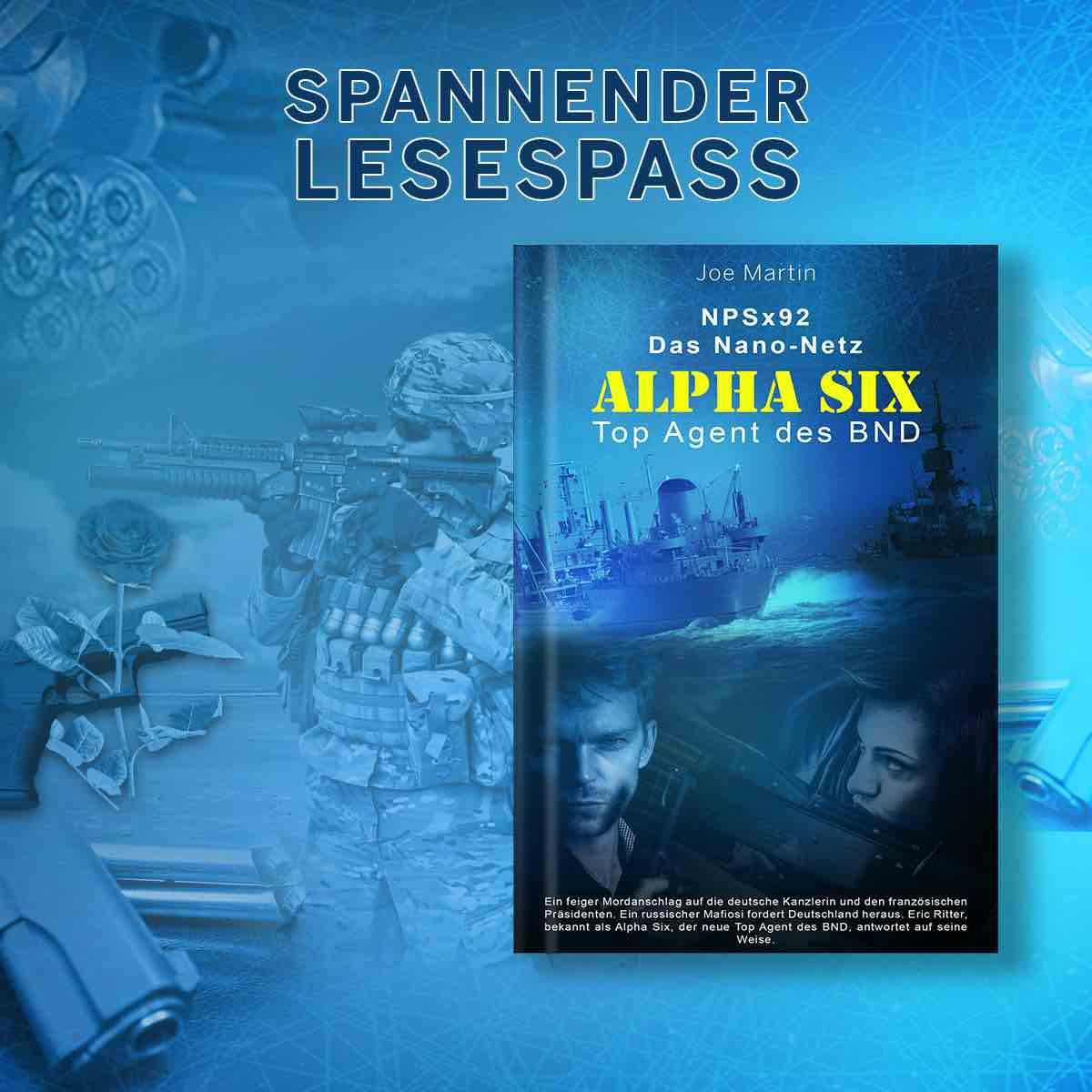 Alpha Six Werbung