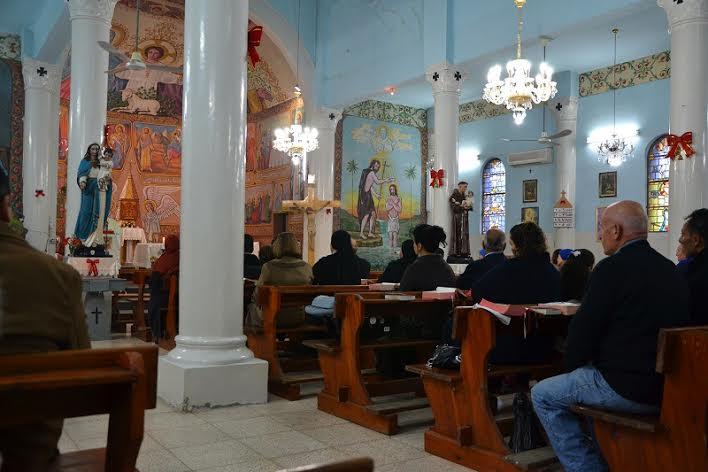 La chiesa latina (cattolica) a Gaza city