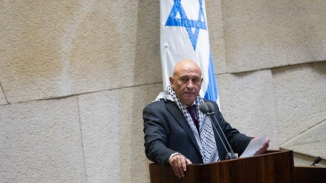 Il deputato palestinese israeliano Basel Ghattas