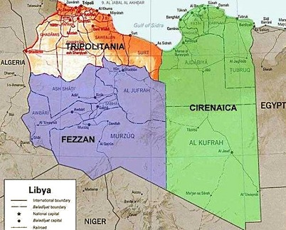 Libya Regions