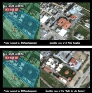 Il target erroneo dell'aviazione militare israeliana