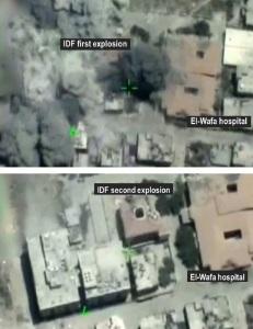 °Fig.4 Bombardamenti dell'IDF