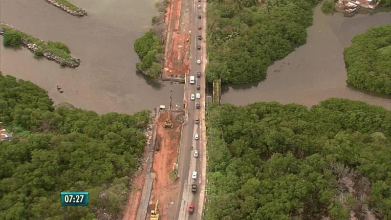 Obra de duplicação da Ponte do Janga deve ser entregue somente em dezembro