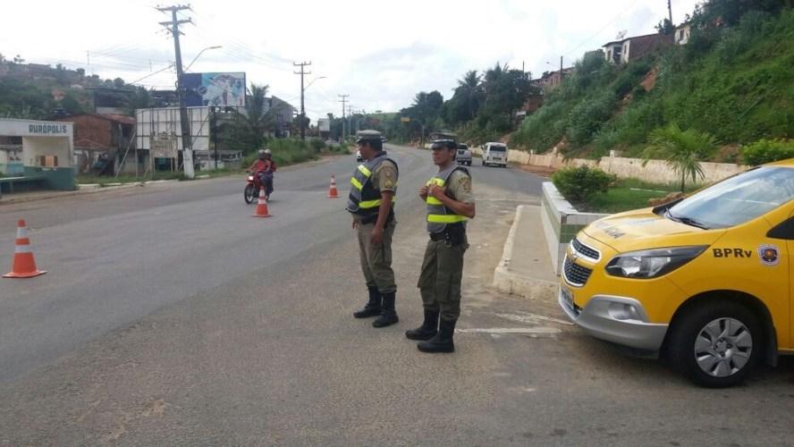 Estradas de Pernambuco têm 26,5% menos acidentes no carnaval 2018