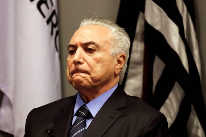 Michel Temer sofre rejeição de 70% da população brasileira
