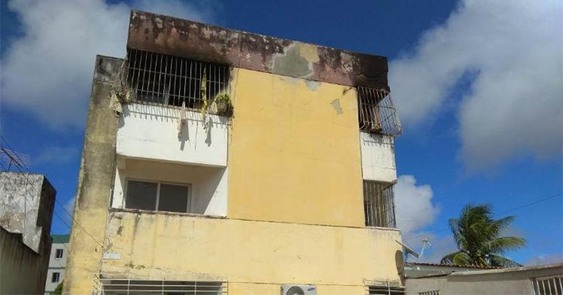 Apartamento que pegou fogo em Paulista é interditado