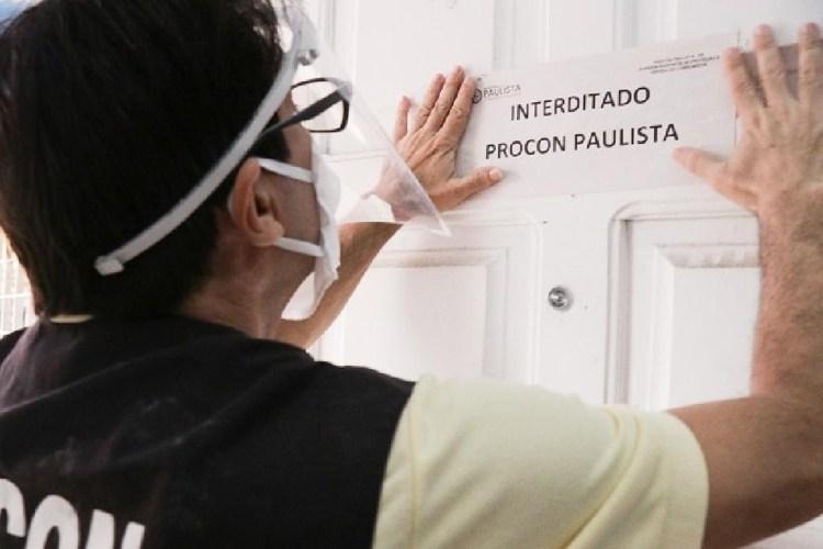 Procon de Paulista interdita curso profissionalizante que estava funcionando com aulas presenciais