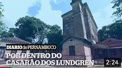 CASA DOS LUNDGRENS, FUNDADORES DE PAULISTA. MATÉRIA DO JORNAL DO COMERCIO.