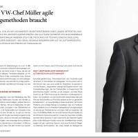 Sollen wir alle Fahrrad fahren oder Straßenbahn, fragt der Herr Müller von #VW