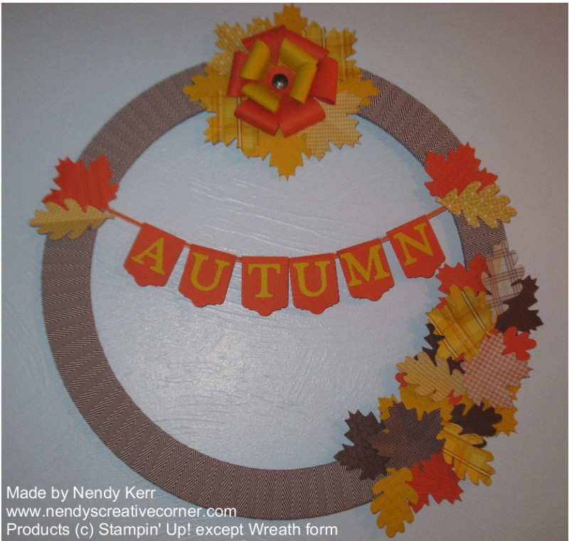 Autumn or Fall Wreath