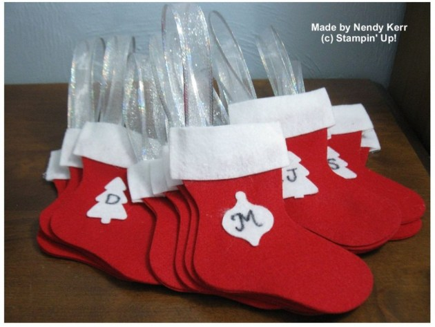 Christmas Stockings for my family