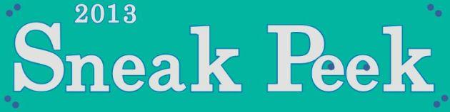 2013-2014 NEW Catalog Sneak Peek!