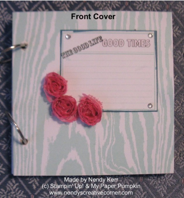 May 2013 My Paper Pumpkin Kit-Front Cover