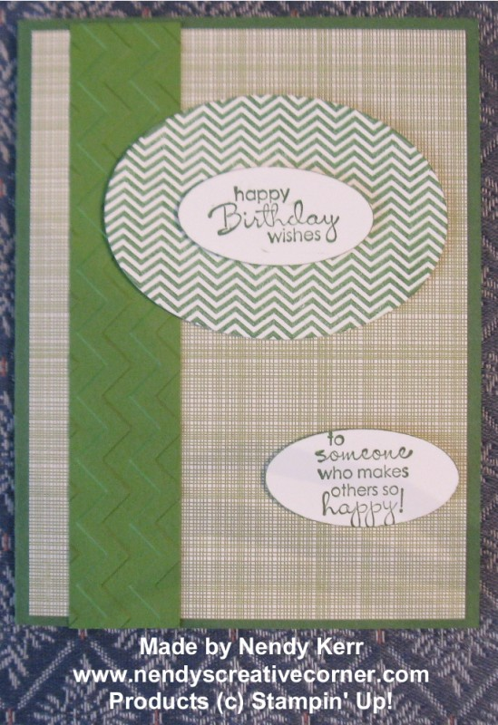 man's brthday card in Greens