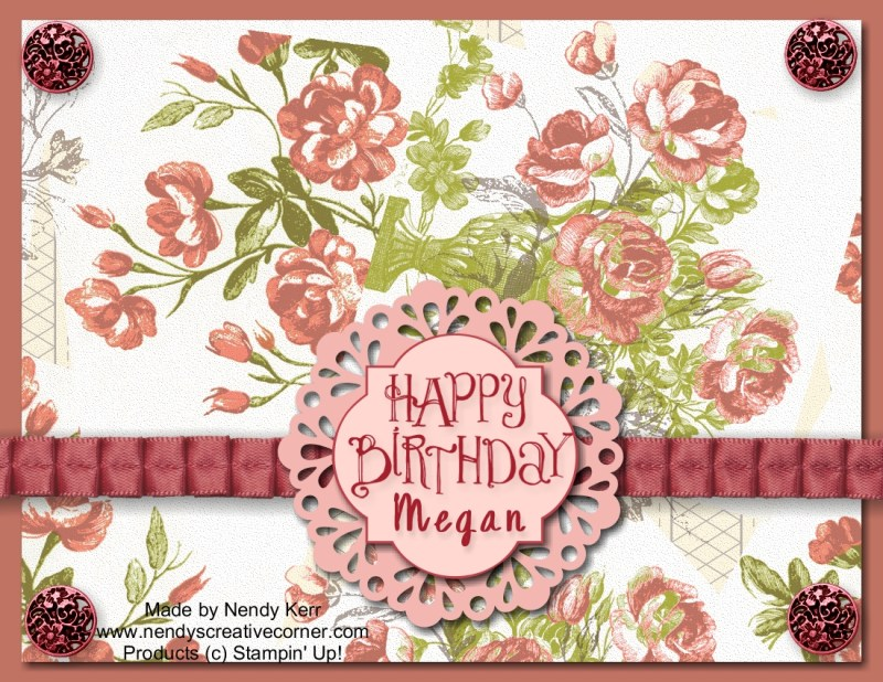 MDS Happy Birthday Megan