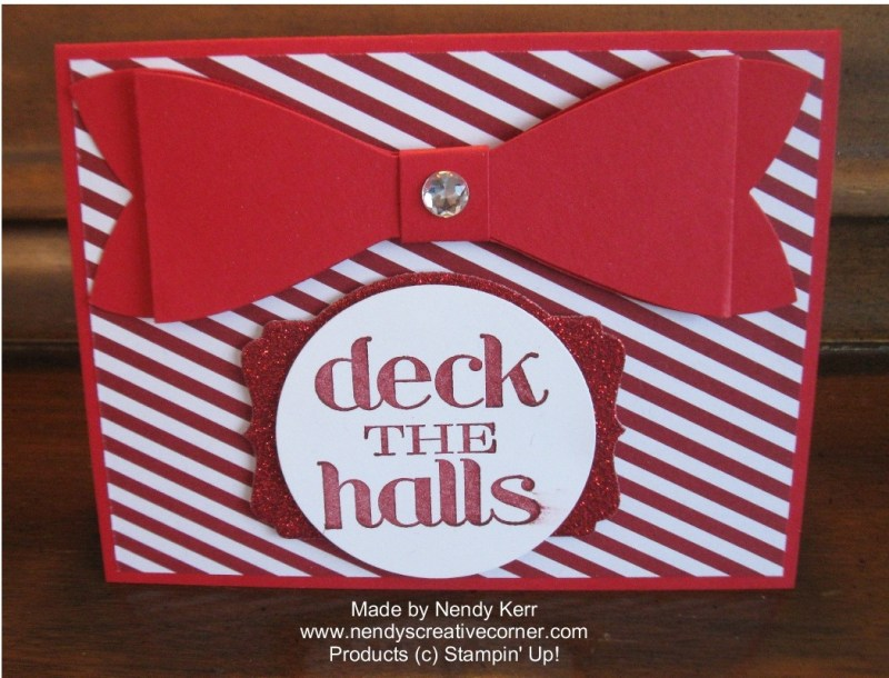 Christmas Bow Card