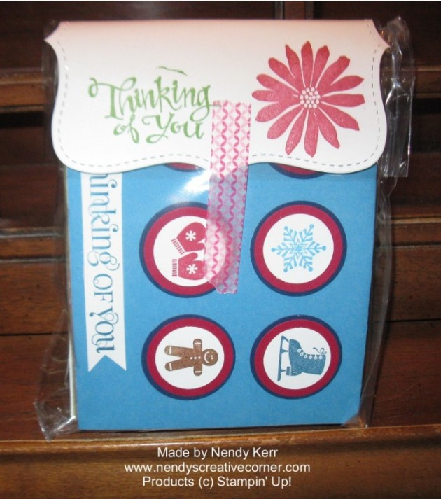 Christmas Card Gift Bag