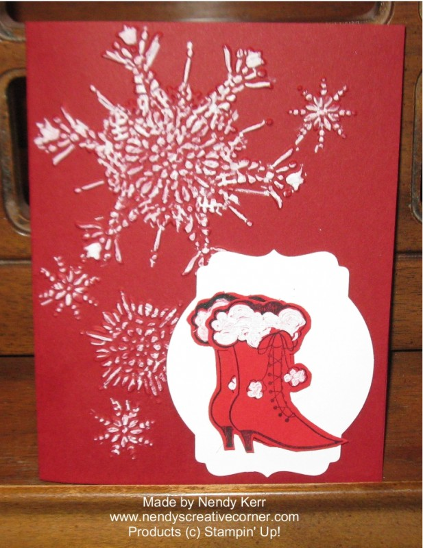 Bootiful Occasions Winter Card