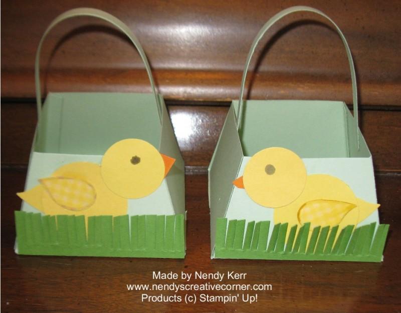 Spring Chick Basket