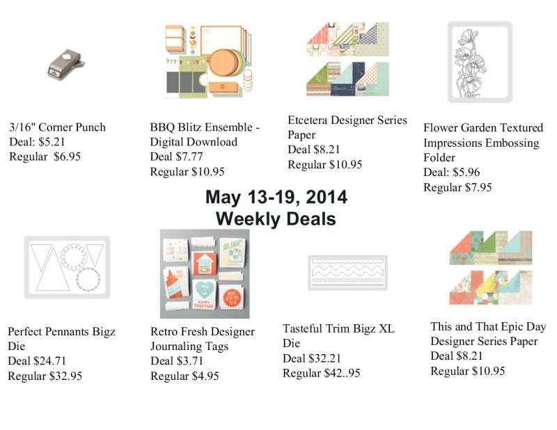 Weekly Deal & Downloads for May 13, 2014