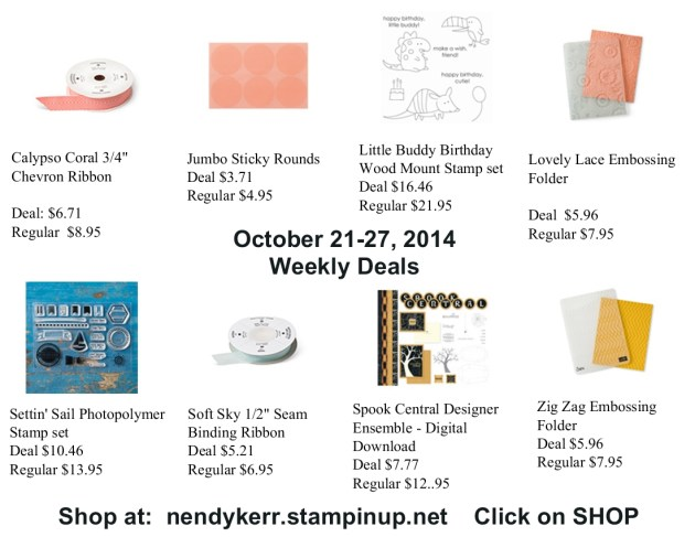 Weekly Deals for October 21-27, 2014