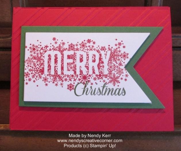 Christmas Banner Card