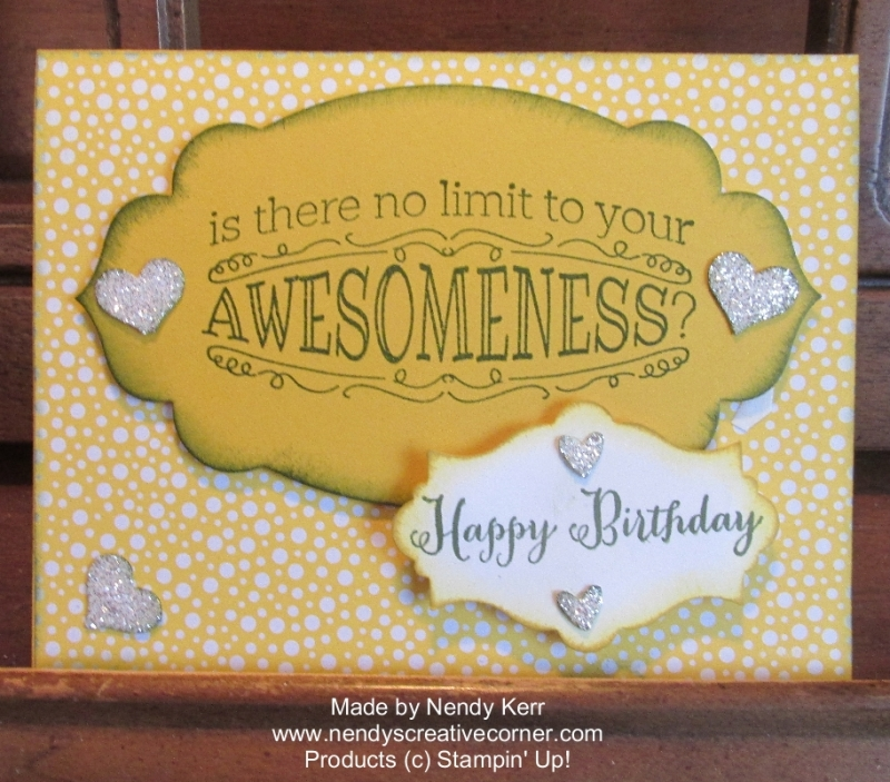 Awesome Birthday Card