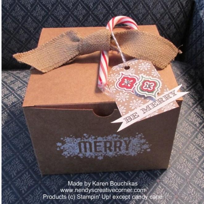 Christmas Gift Box-closed