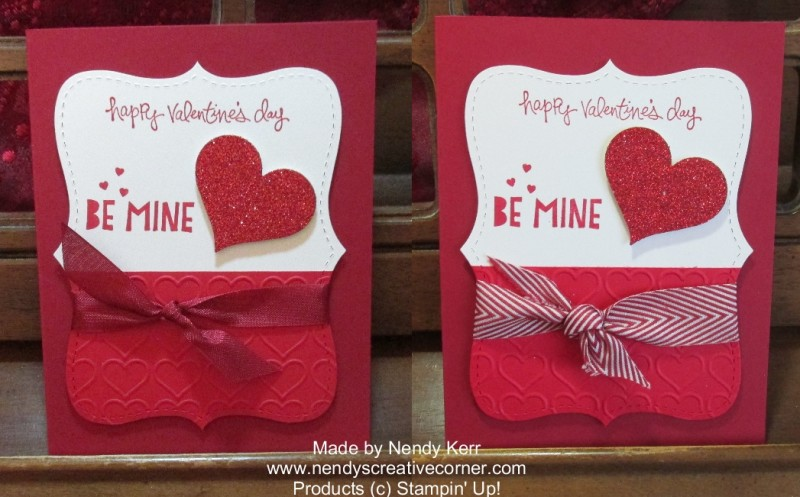 Top Note Valentine cards