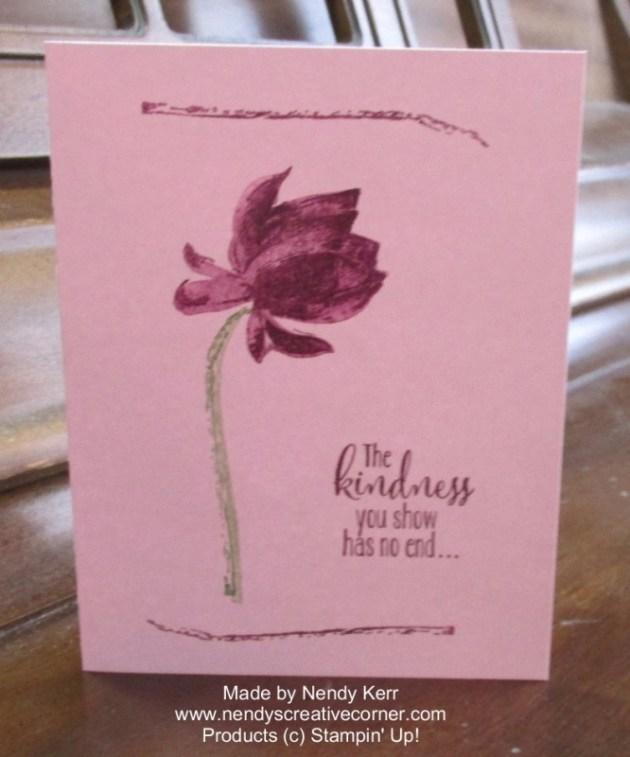 Lotus Blossom Card