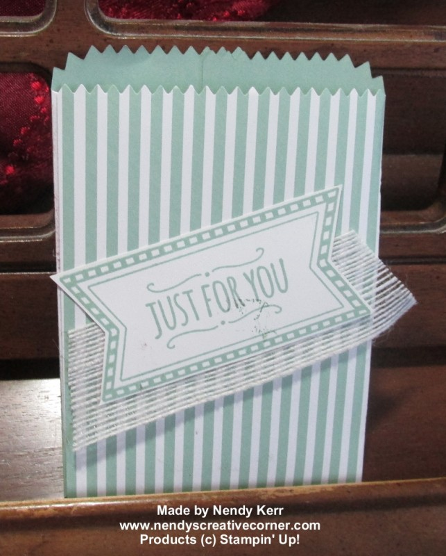 Envelope Paper Treat Bag