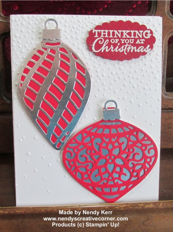 Delicate Ornament Card