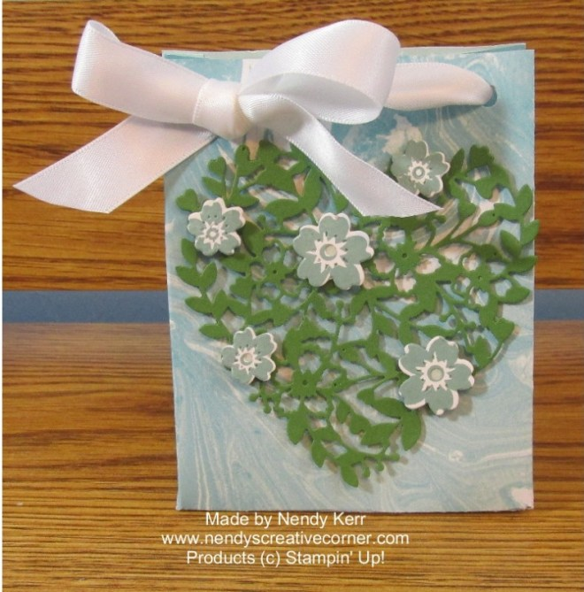Bloomin Heart Gift Bag-Perfectly Artistic paper