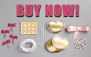 Love Blossoms Embellishment Kit-Buy Now
