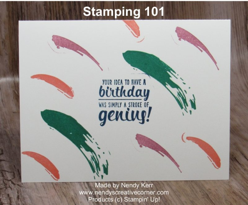 Painter's Palette - Stamping 101