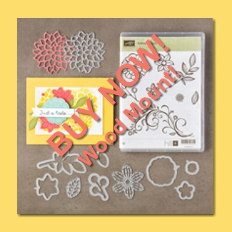 Falling Phrases Wood Mount Bundle