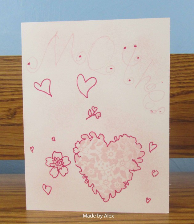 Alex's Heart Card