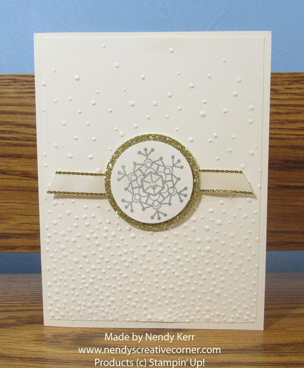 Snowflake and Snow card