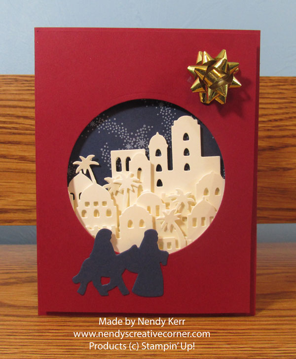 Merry Christmas Bethlehem Card