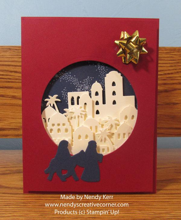 Merry Christmas Bethlehem Card
