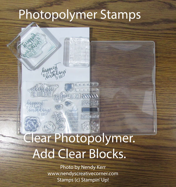 Photopolymer Stamps in Cast