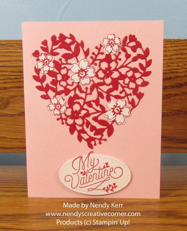 Bloomin' Love Valentine Card