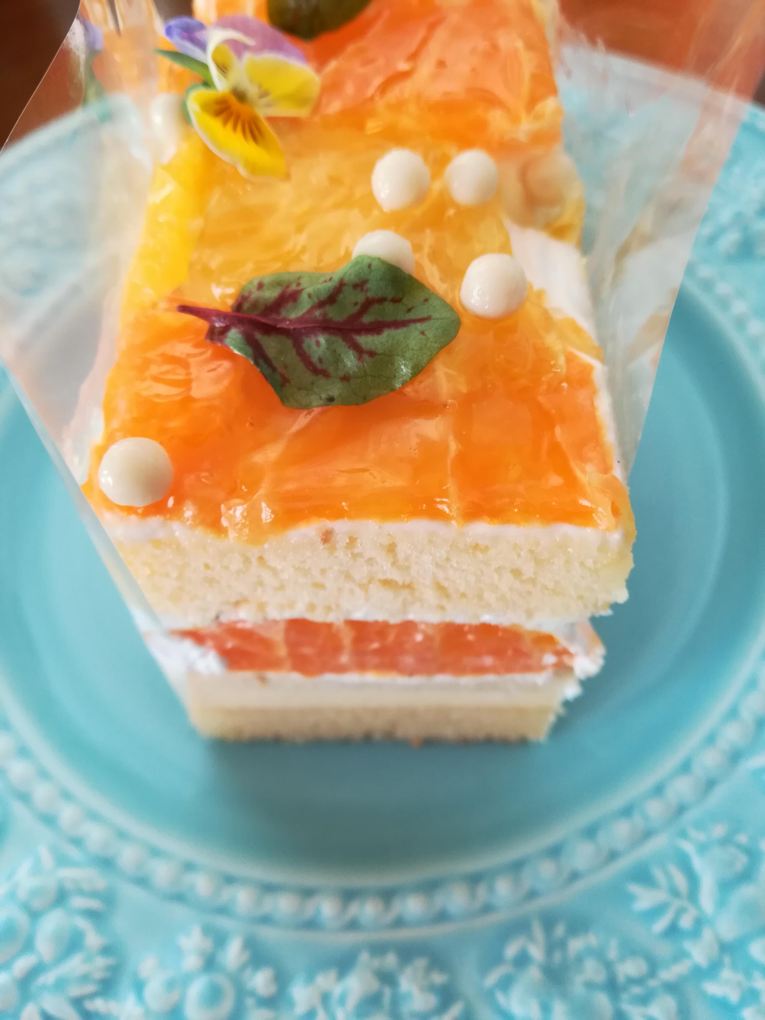 【グルメ】インターコンチネンタル大阪 stressedのケーキ
