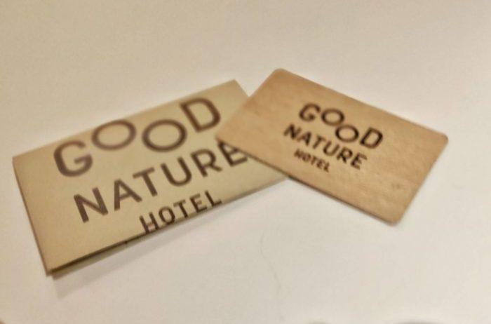 グッドネイチャーホテルのカードキー