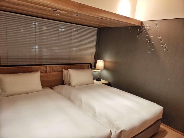 グッドネイチャーホテルの部屋