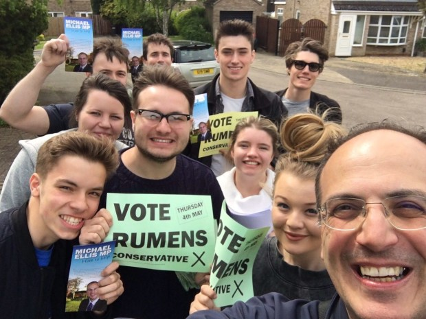 Rumens canvassing