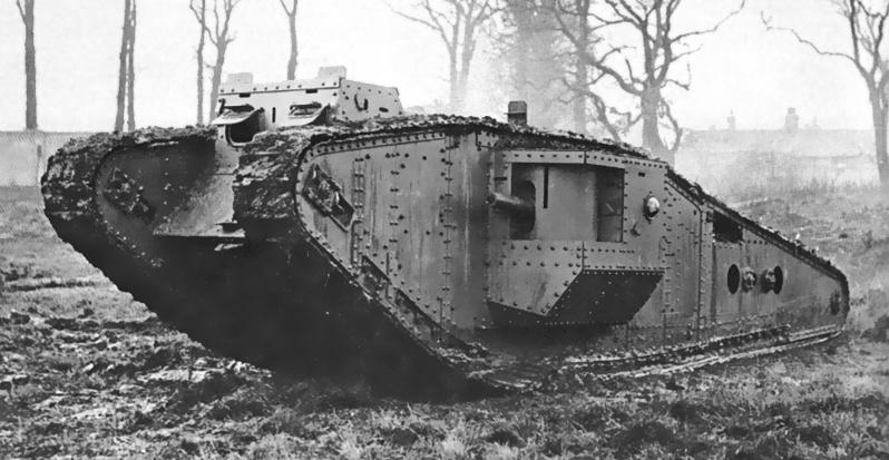 British_Mark_IV_Tadpole_tank
