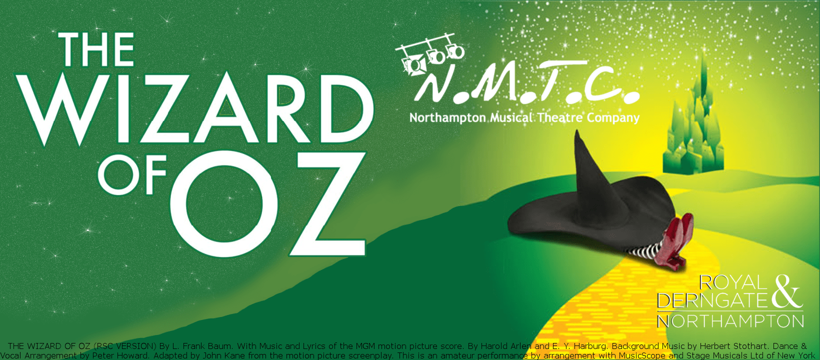 Wizard horizontal No Date